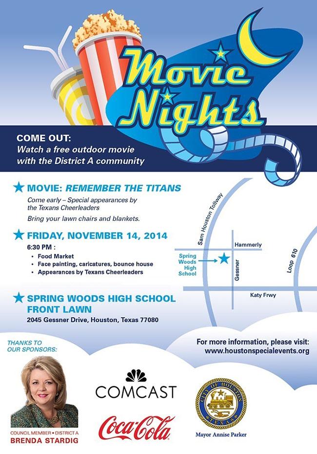 District A Movie Night