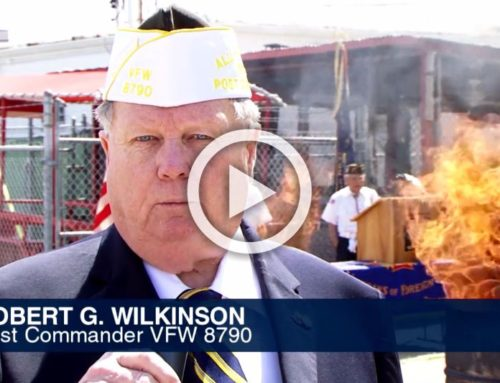 Video of the SBMD Flag Retirement Ceremony at VFW 8790