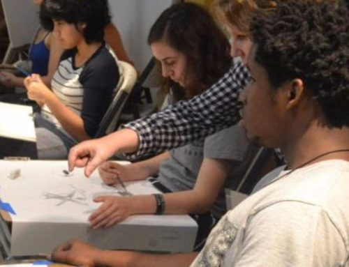 Summer High School Studio Art Intensive at Art League Houston