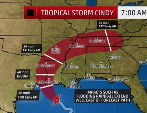 Tropical Storm Alert! Cindy's Severe Flood Threat