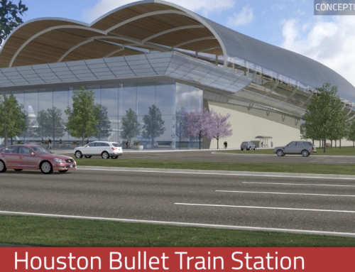 Slideshow: Preferred site for Houston's bullet-train station revealed