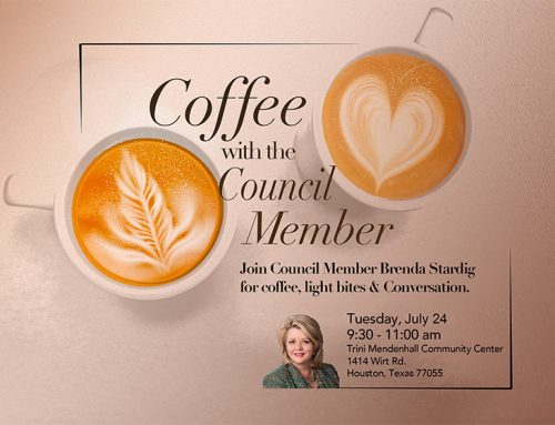 Coffee with the Council Member