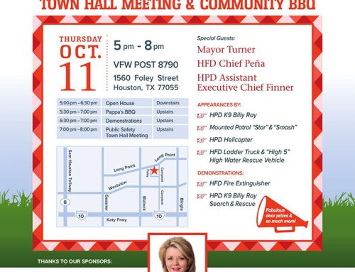 Public Safety Town Hall Meeting & Community BBQ, Oct. 11