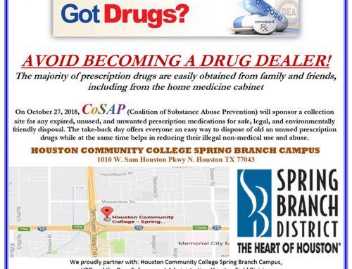 DEA National Prescription Drug Take-Back Day!