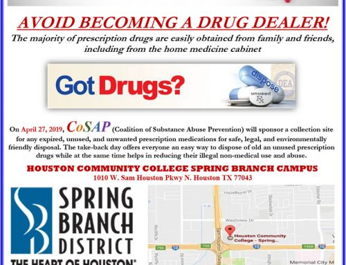 DEA National RX TakeBack Saturday, April 27