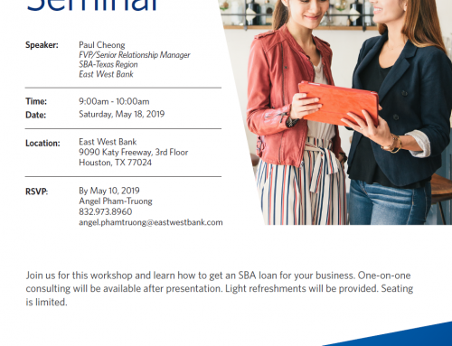 East West Bank Presents: FREE SBA Loan Seminar