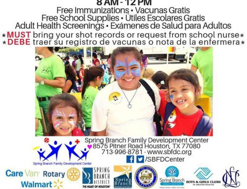 Back-to-School Health Fair, Aug. 10