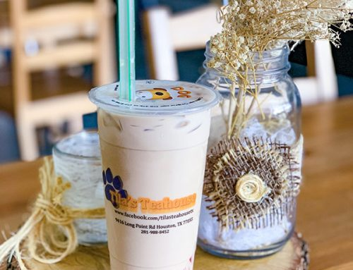 Taiwanese Bubble Tea in Spring Branch: Tila's Teahouse