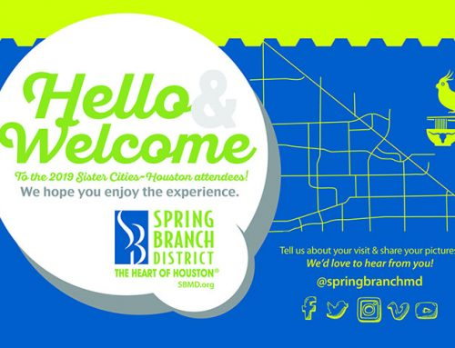 Hello & Welcome to the 2019 Sister Cities Houston Attendees