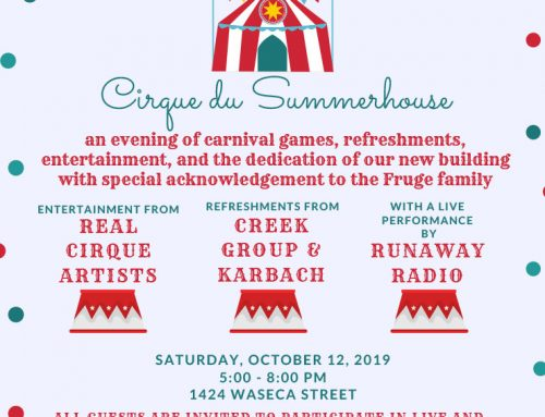 Summerhouse Houston: Great Fundraiser for a Great Cause, Oct. 12