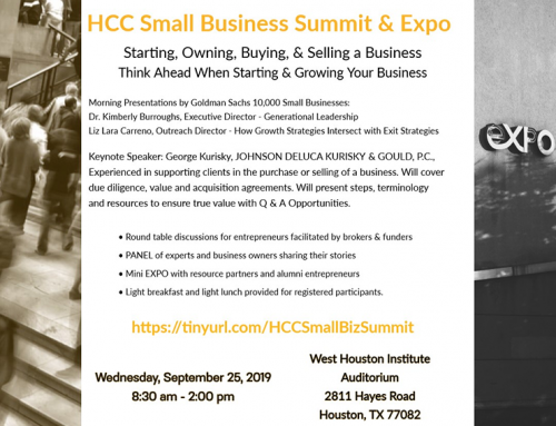 HCC Small Business Summit & Expo, Sept. 25