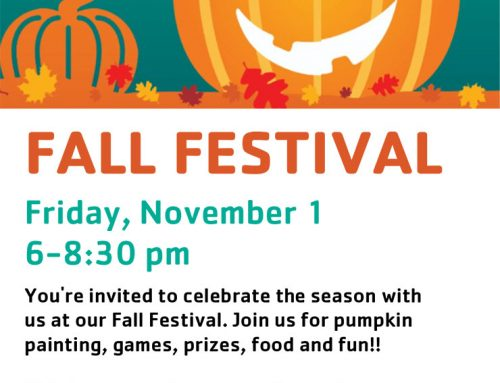 YMCA: Fall Festival, Nov. 1