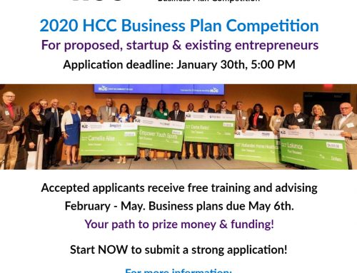 HCC Business Plan Competition Deadline Coming Up