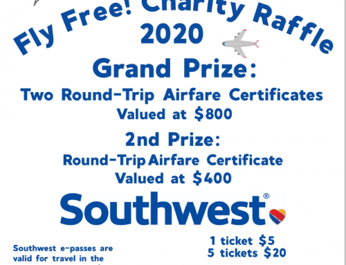 TWRC Wildlife Center: Fly Free Charity Raffle