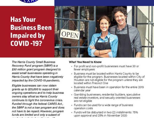 Harris County Small Business Recovery Fund
