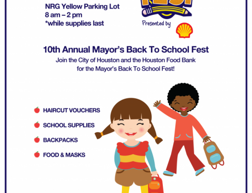 City of Houston Announces the 10th Annual Mayor's Back to School Fest