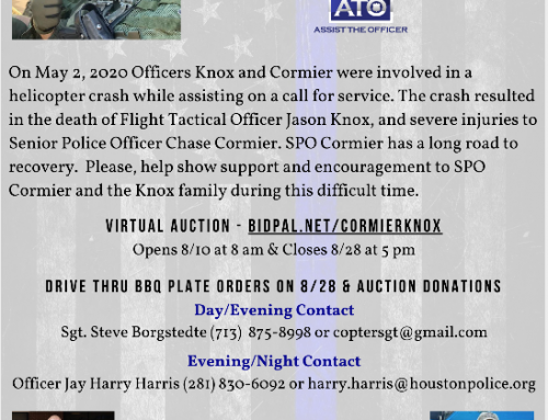 Officer Cormier & Knox Family Benefit