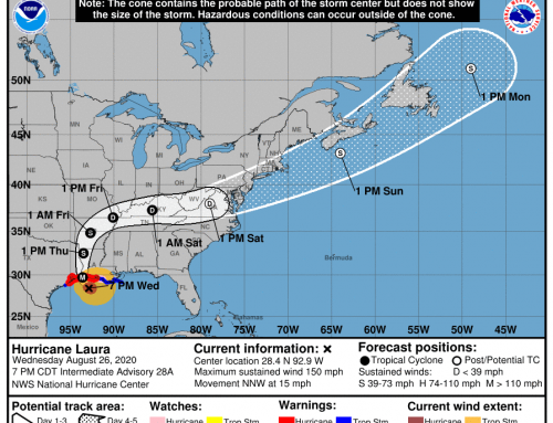 Prepare for Hurricane Laura Impacts (Wednesday, 7:30 p.m.)