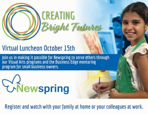 New Spring Center: Virtual Luncheon, Oct. 15