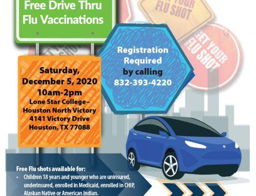 Free Drive-Thru Flu Vaccinations, Dec. 5