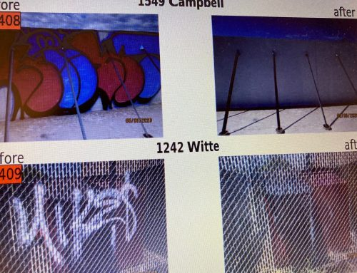 Graffiti abatement program keeps Spring Branch looking good