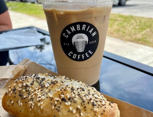 Hunting for good coffee and sausage rolls? Nothing 'tricera -tops' Cambrian Coffee