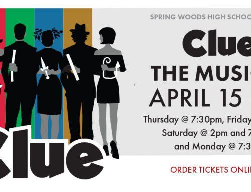 Spring Woods High School Presents: Clue – The Musical, April 15-19