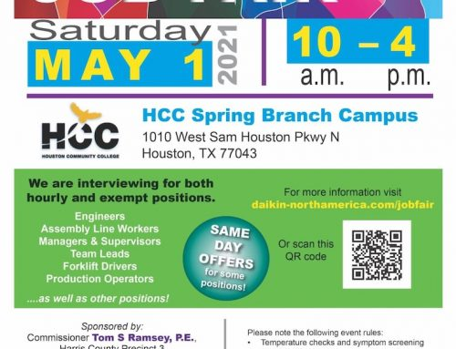 Job Fair, May 1