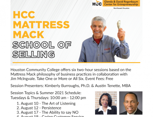 The HCC Mattress Mack School of Selling